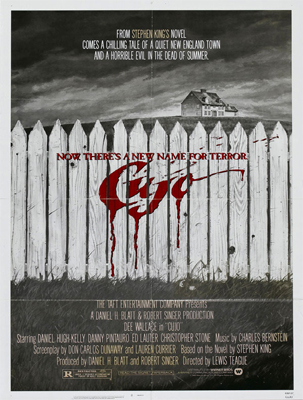 Cujo Poster Art by Robert Tanenbaum